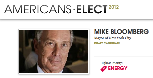 Bloomberg Americans Elect